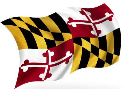 Maryland (USA) flag Stock fotó - 8364295