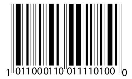 the bar-code Illusztráció