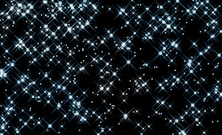 night sky and stars: stellar pattern