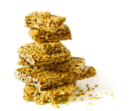 stack of honey-nuts photo