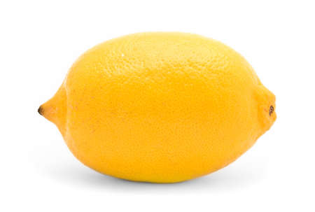 lemon, isolated  photo