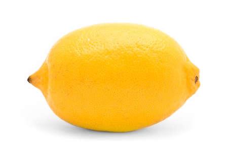 Zitrone, isoliert