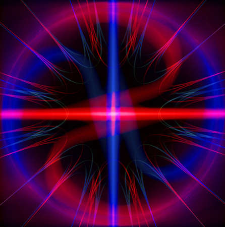 luminescence: linear fractal