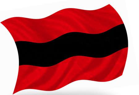 ensign: Albania ensign, 3d Stock Photo