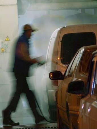 machine man: manual car-wash service