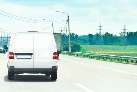 kommerziellen Auto Autobahn