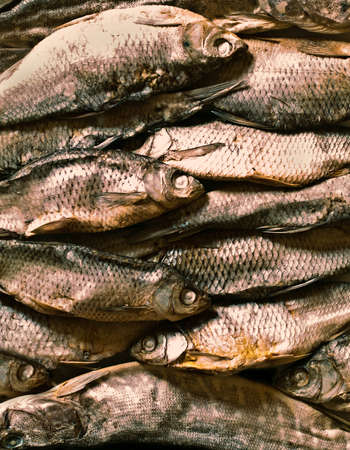 smoke-dried fish Stock Photo - 15487323