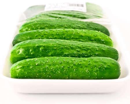 tare: fresh cucumbers in tare