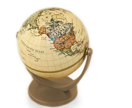 terrestrial: terrestrial globe