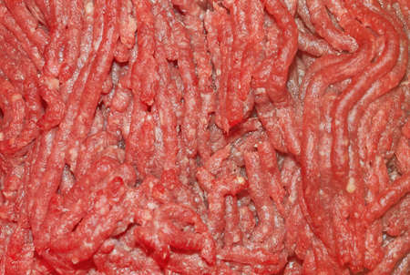 Frozen meat: semi-prepared meat  Stock Photo