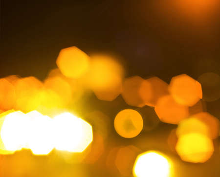 golden bokeh photo