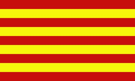 Catalonia (Spain) flag Stock Vector - 16898961