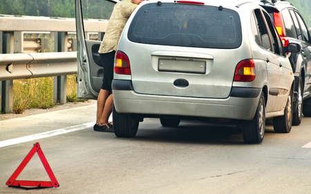 car accident Stock Photo - 18712333