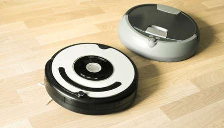 piso limpeza e lavagem robôs Imagens