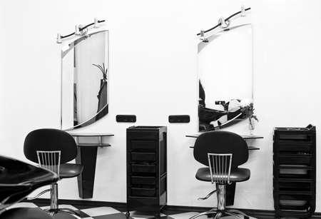 sal�n: peluquer�a Foto de archivo