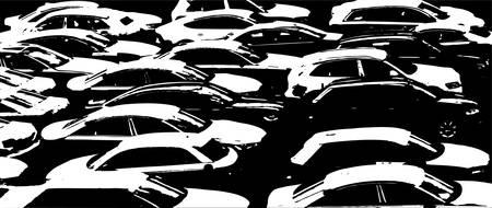 voiture parking: voitures
