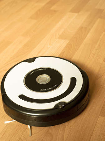 floor vacuum cleaning robot photo