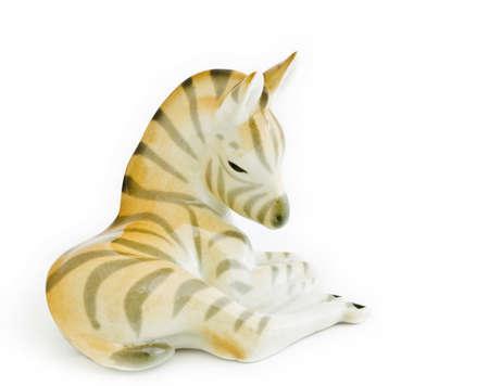 faience: faience zebra