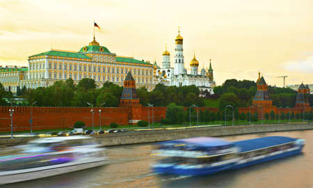 moskva river: Russia, Moscow, kremlin