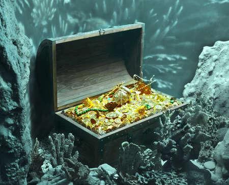 Unterwasser-Schatz