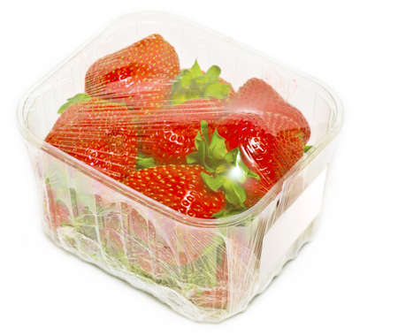 packed strawberry photo