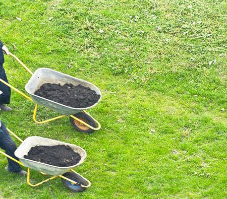 fertilization: industrial gardeners