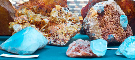 mineralogy: crystal minerals