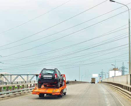flatcar: the car on the truck