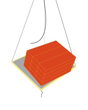 lading: broken rope