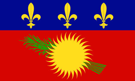guadeloupe: flag of Guadeloupe  french island