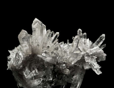 the crystal quartz  Stock Photo