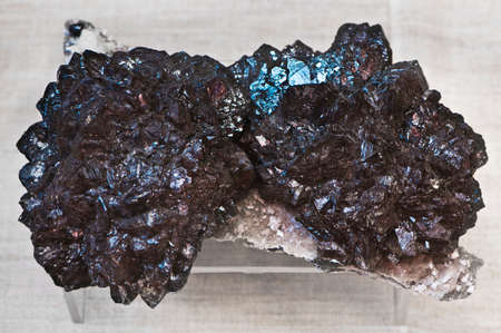 concretion: sphalerite close up