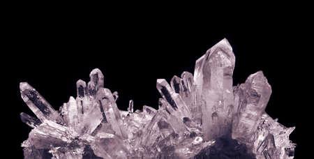 quartz crystals photo