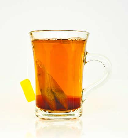 teacup on white photo
