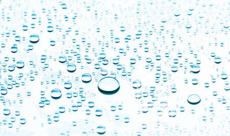 superficie: gotas de agua o las burbujas