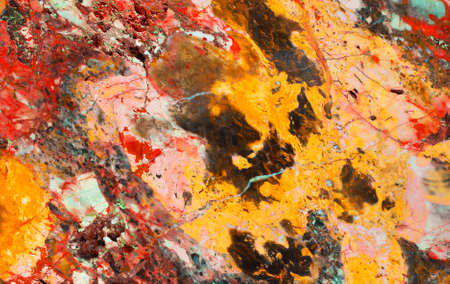 oxydation: jasper or marble