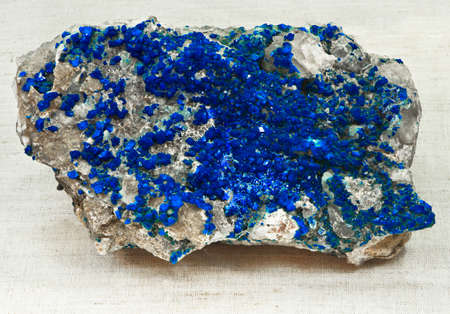 ultramarine mineralization