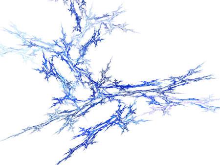 crystallization: abstract crystallization