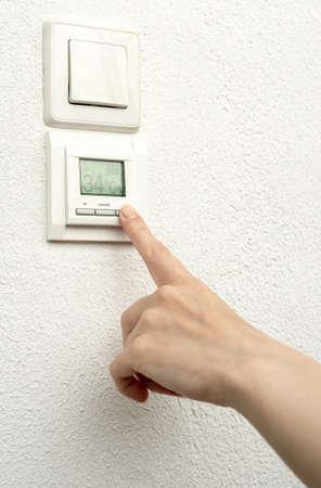 regulation of floor heating photo