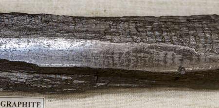 mineralogy: native graphite
