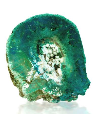 mineralization: the Aegirine (NaFeSi2O6)