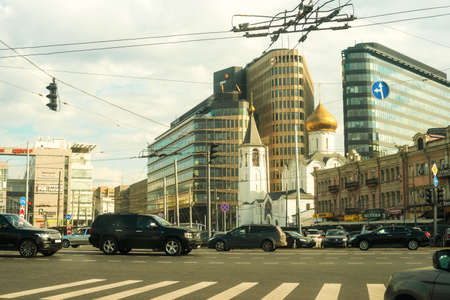 weekdays: Moscow, Russia, 2014:  weekdays of central Moscow