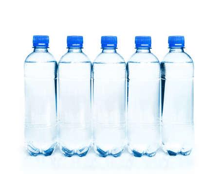 potable: bottles of potable water