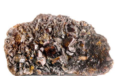 cassiterite (tin ore) Stock Photo - 35090110