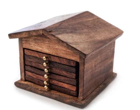 hypothec: wooden souvenir Stock Photo