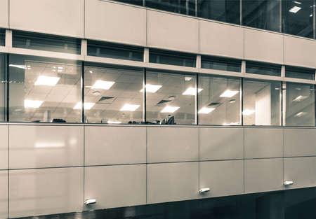 featureless: office exterior