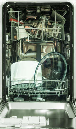 dishwashing machine photo