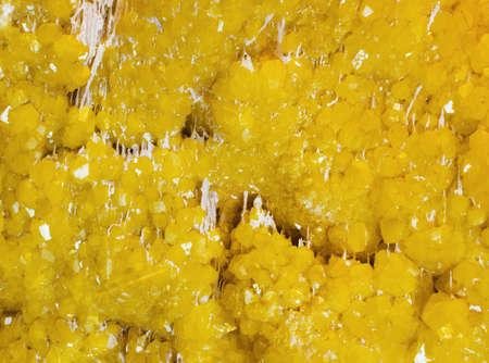 mineralization: sulphur Stock Photo