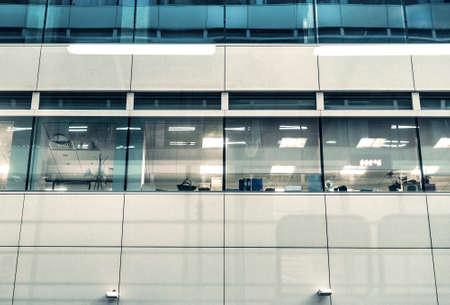 austere: office exterior
