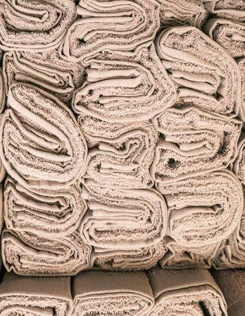 mass storage: stacked plush fabric